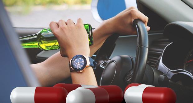 Προσοχή σε αλκοόλ και φάρμακα κατά την οδήγηση