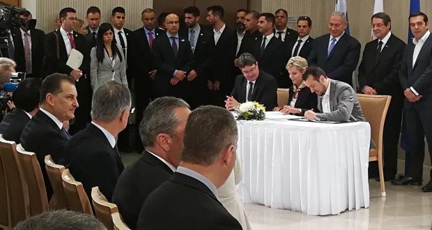 Μεγάλη συμφωνία για τον Eurasia Interconnector