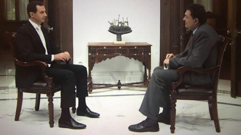 Ο Αλέξης Παπαχελάς πήρε συνέντευξη από τον Άσαντ, για πρώτη φορά μετά την επίθεση των ΗΠΑ (όλη η συνέντευξη+ΒΙΝΤΕΟ)