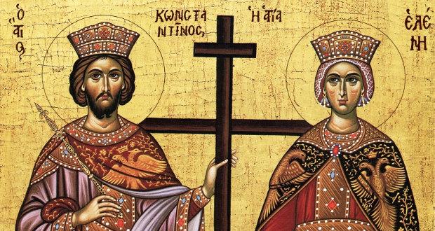 Οι Άγιοι και Ισαπόστολοι Κωνσταντίνος και Ελένη (ηχητικό)
