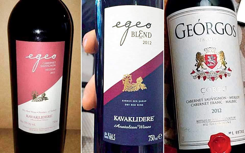 Ελληνοπρεπές κρασί Τουρκίας – Επιτήδειοι ξεγελούν με ετικέτες που παραπέμπουν στην Ελλάδα