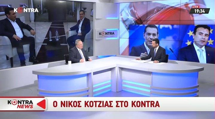 Δείτε ζωντανά τη συνέντευξη του Νίκου Κοτζιά στο Kontra
