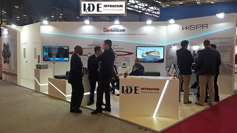Η IDE (INTRACOM Defense Electronics) στη Διεθνή Έκθεση Άμυνας και Ασφάλειας EUROSATORY 2018