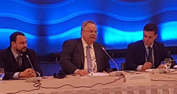 Ν. Κοτζιάς: Στη Διάσκεψη της Ρόδου επιδιώκουμε την ανάπτυξη της συνεργασία μας και όχι τη γκρίνια μας (βίντεο)