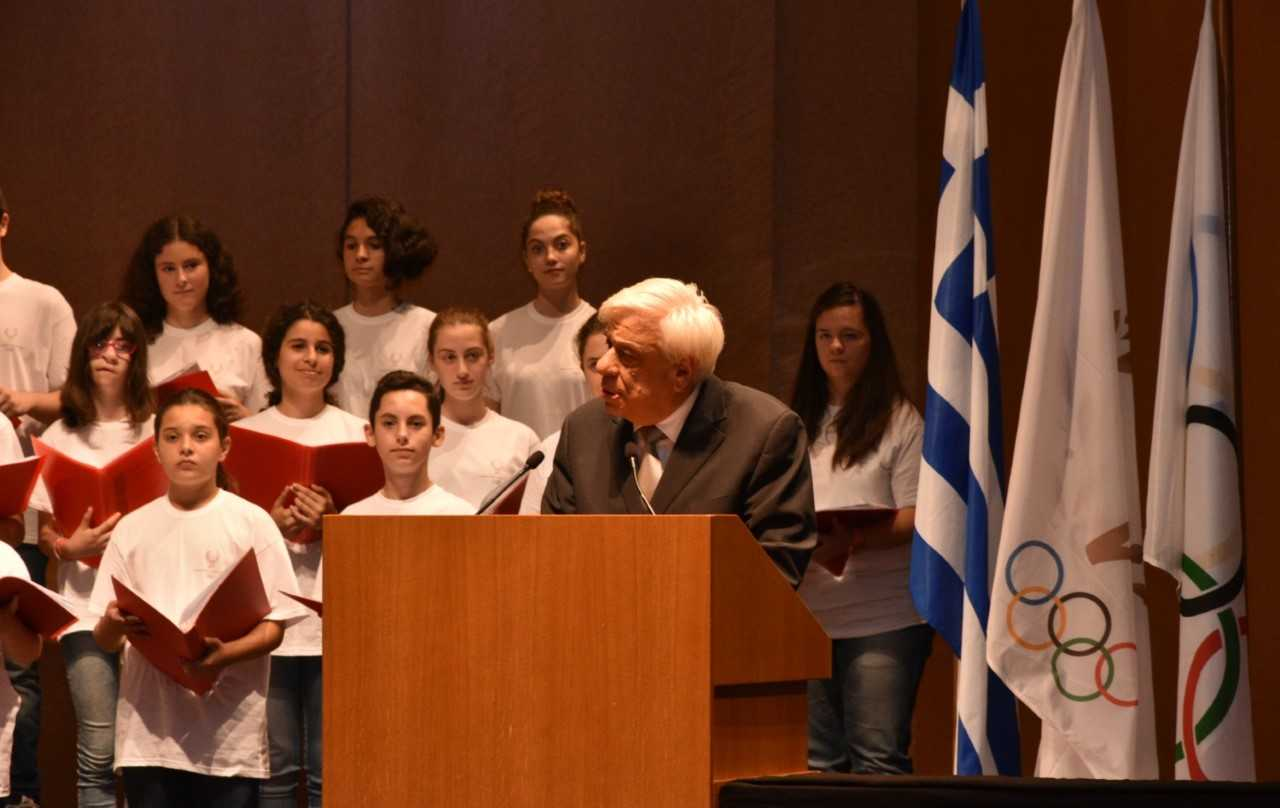 Ο Πρόεδρος της Δημοκρατίας κήρυξε την έναρξη της 58ης Διεθνούς Συνόδου της ΔΟΑ για Νέους Μετέχοντες