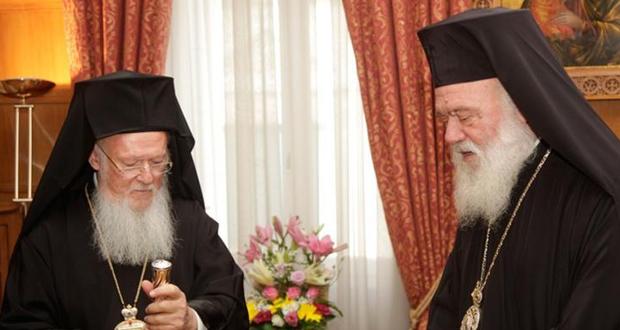 Συνάντηση Οικουμενικού Πατριάρχη με Αρχιεπίσκοπο την Δευτέρα