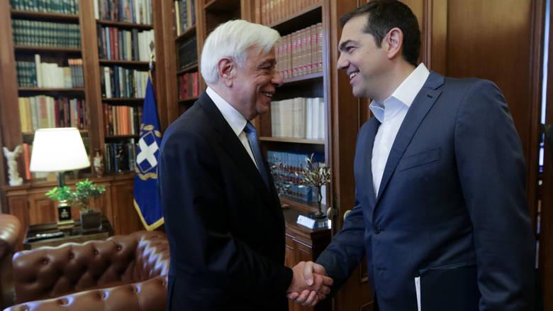 Στον Πρόεδρο της Δημοκρατίας σήμερα ο Αλέξης Τσίπρας