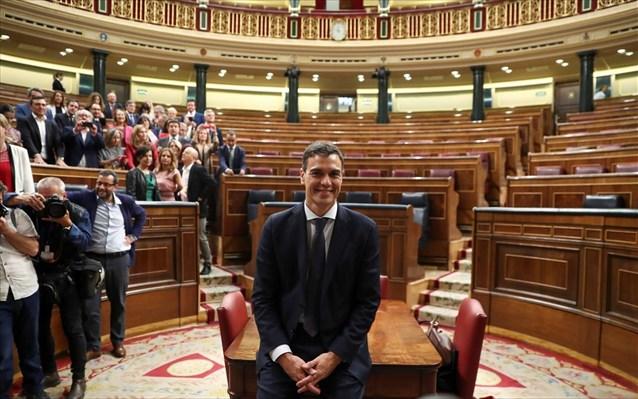 Και επίσημα αλλαγή σκυτάλης στην Ισπανία