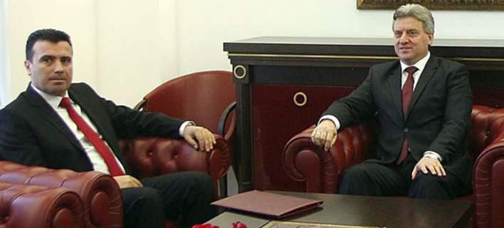 Χαμός στα Σκόπια: Πέταξε έξω τον Ζάεφ ο πρόεδρος Ιβάνοφ