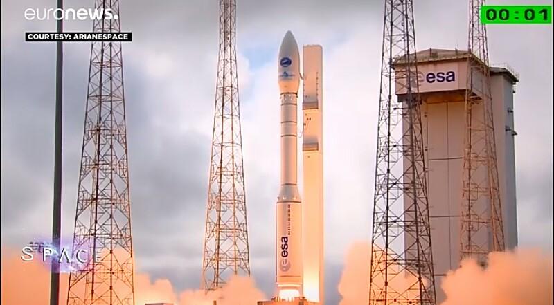 Ο νέος διαστημικός πύραυλος Vega (βίντεο)