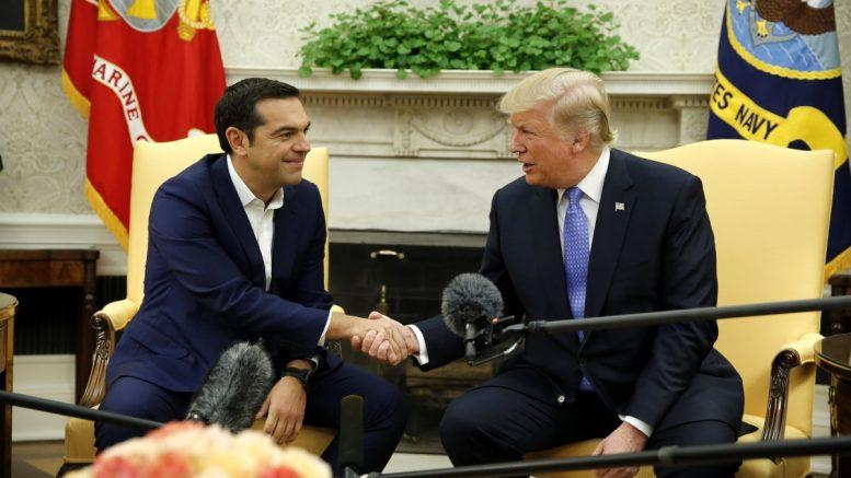 hellasjournal: Επιστολή του Τραμπ στον Αλέξη για το ΝΑΤΟ – Θετικά λόγια για Ελλάδα, θυμός για Γερμανία