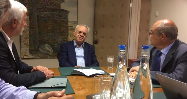 Συνάντηση του Γ. Δραγασάκη με τον Περιφερειάρχη Πελοποννήσου