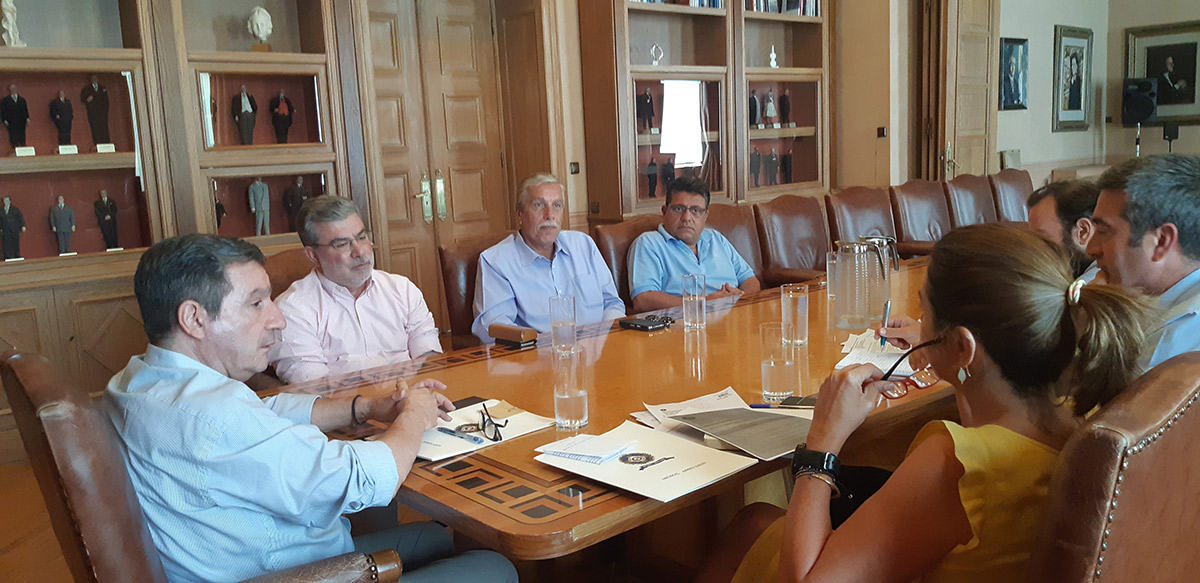 Συνάντηση Ευθυμίου-Καμίνη για την αξιοποίηση των π. Σφαγείων Ταύρου