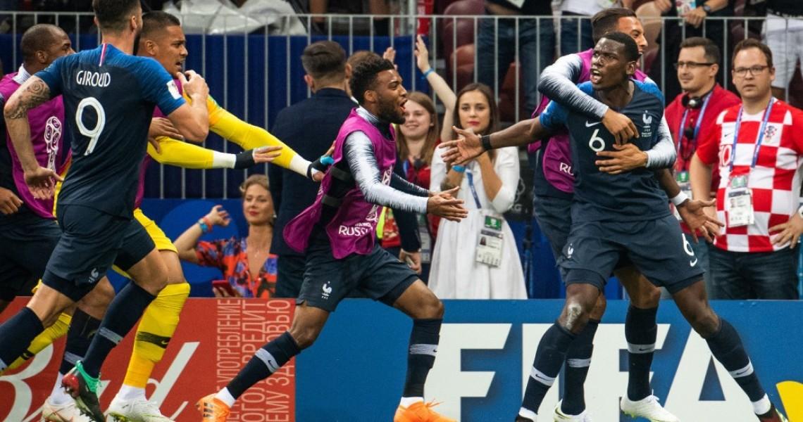 Πρωταθλήτρια κόσμου η Γαλλία (βίντεο)