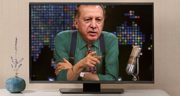 Ο Ερντογάν και… τηλεοπτικός σταρ