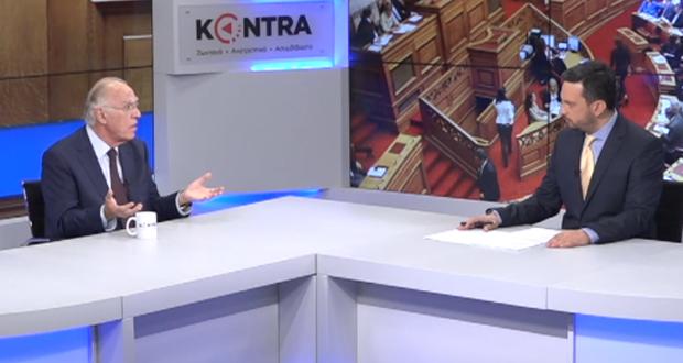 Ο Βασίλης Λεβέντης στο «KONTRA» (βίντεο)