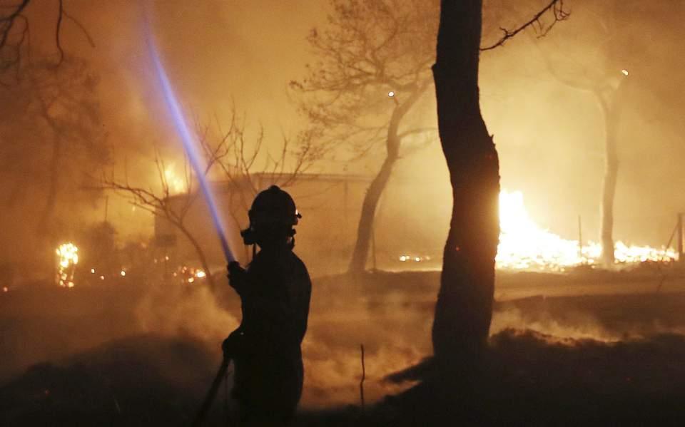 Μάτι: 2η φονικότερη πυρκαγιά στον 21ο αιώνα