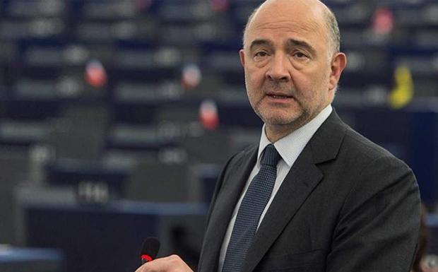 """Τα """"καρφιά"""" του Μοσκοβισί για τη ΝΔ: Σύμμαχος του ελληνικού λαού η Κομισιόν και όχι της μιας ή της άλλης κυβέρνησης"""