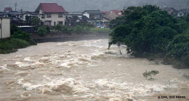 Φονικές βροχές στην Ιαπωνία: Τουλάχιστον 45 αγνοούμενοι και έντεκα νεκροί μέχρι τώρα