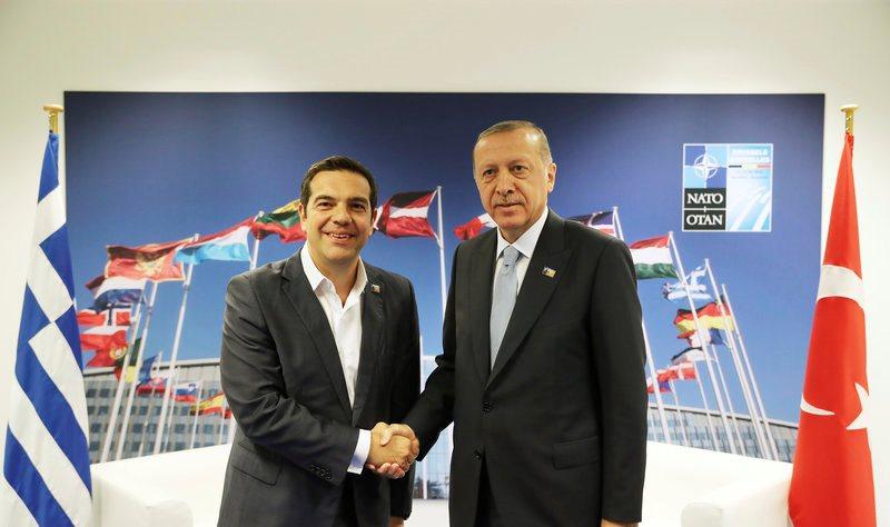 Βρυξέλλες: Ολοκληρώθηκε η συνάντηση Τσίπρα – Ερντογάν