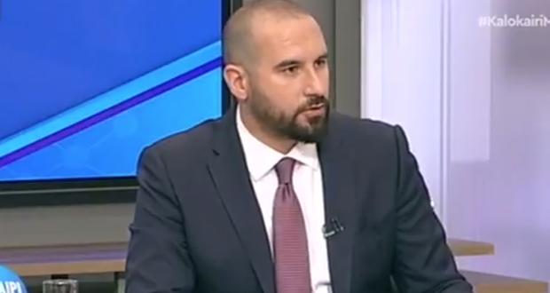 Δ. Τζανακόπουλος: «Πολιτική φοροελαφρύνσεων και κοινωνικής στήριξης από το 2019» (βίντεο)