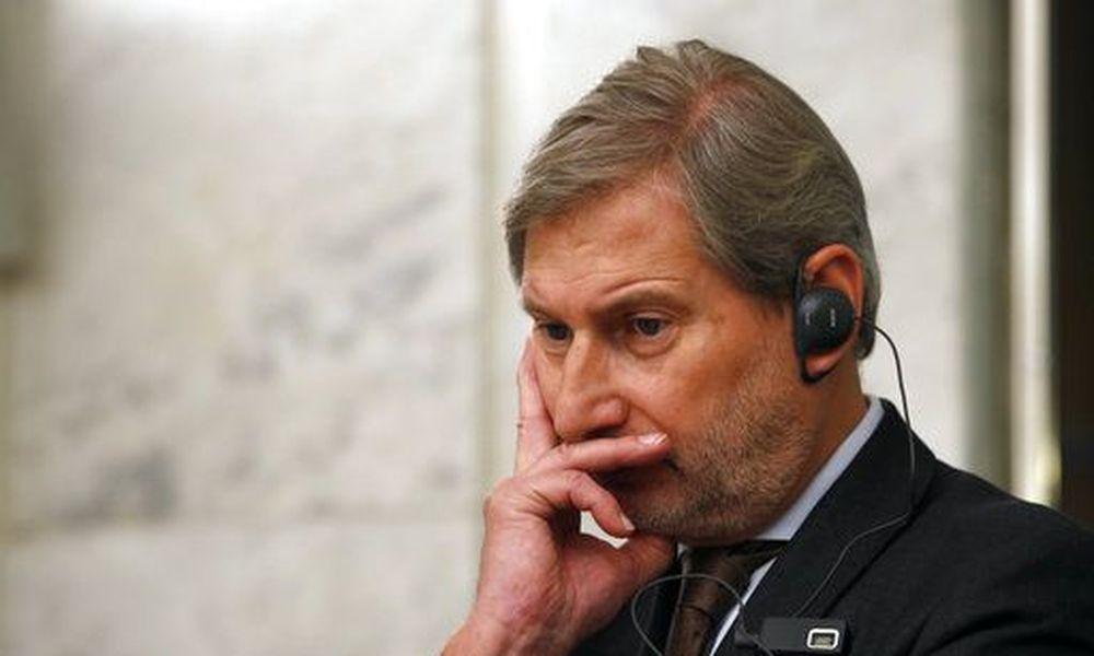 Επίτροπος ΕΕ Χαν: Αλλαγή συνόρων Ελλάδας – Αλβανίας!
