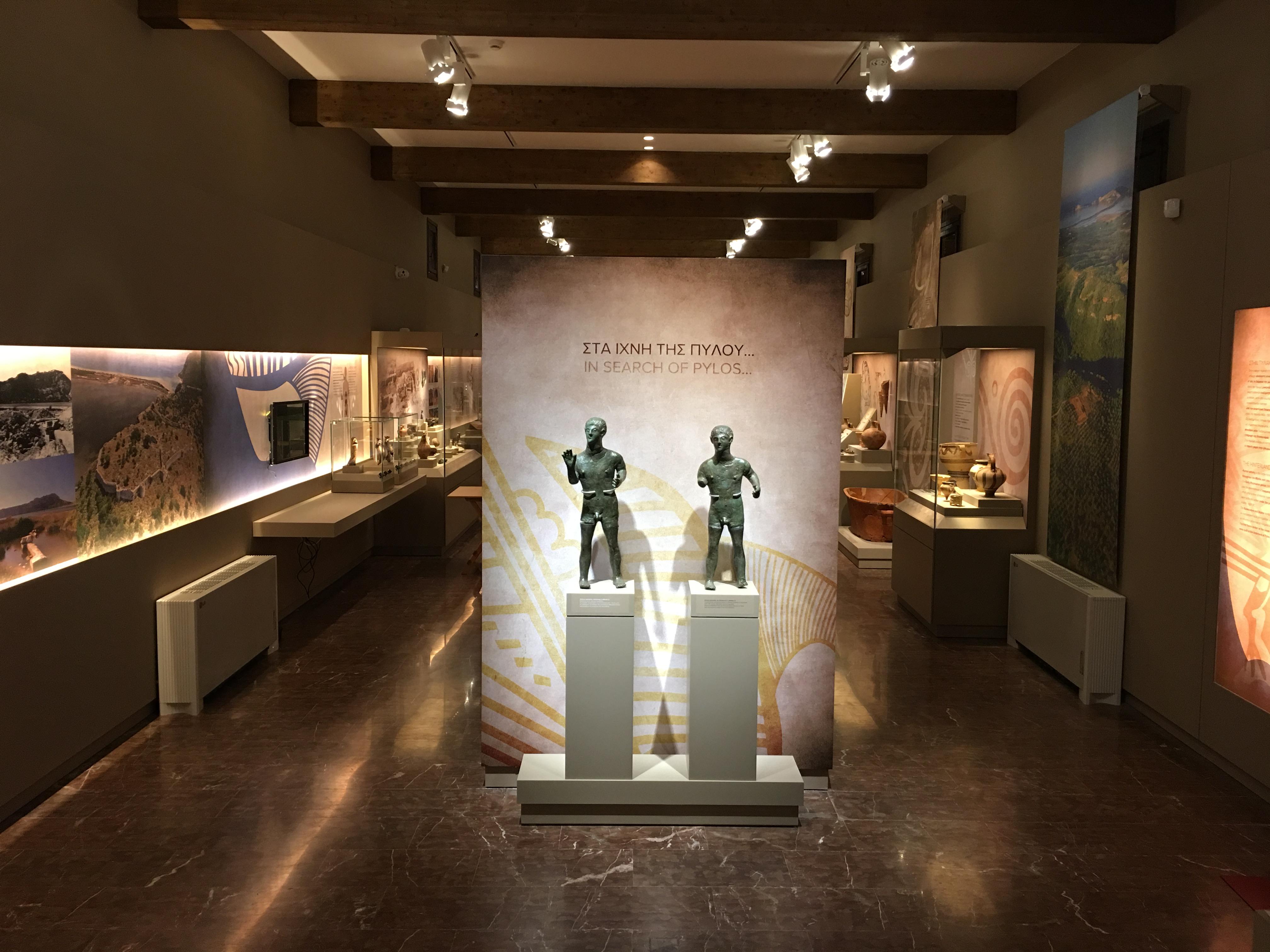 """Εγκαίνια του νέου Αρχαιολογικού Μουσείου Πύλου """"Στα ίχνη της Πύλου…"""""""