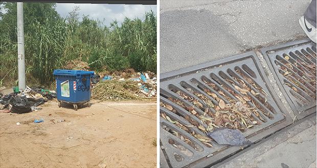Καθαρίστε φρεάτια και μαζέψτε σκουπίδια από τις γειτονιές του Αμαρουσίου και μη τα «ρίχνετε στα ρέματα»