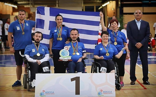 «Χρυσά» και τα ζευγάρια BC3 στο Παγκόσμιο Πρωτάθλημα του Λίβερπουλ