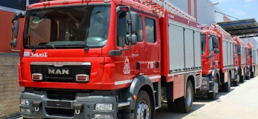 Στο συνεργείο ήταν τα πυροσβεστικά οχήματα!
