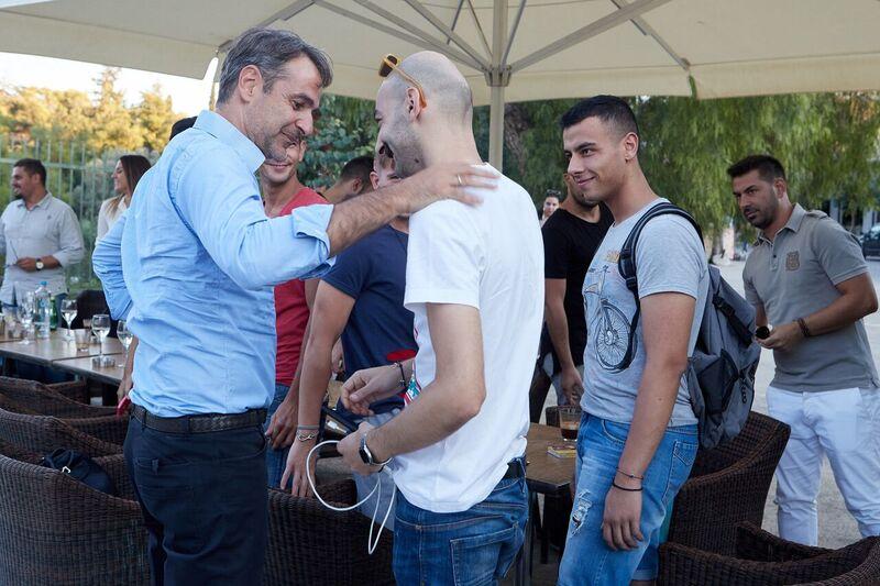 Κ. Μητσοτάκης: Συνάντηση με νέους εργαζόμενους στον τομέα της εστίασης