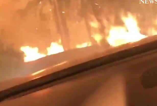 Συγκλονιστικό βίντεο επιβίωσης από φωτιά στη Μοντανα των ΗΠΑ