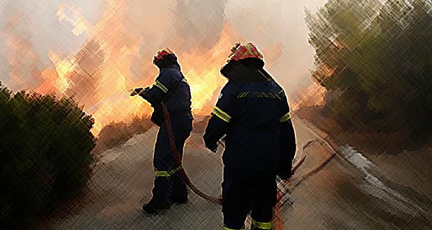 Νηστικούς και χωρίς ατομικό εξοπλισμό έστειλαν τους πυροσβέστες στα Ψαχνά