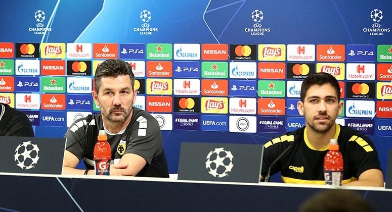 M. Ουζουνίδης: Στο Champions League, πρέπει να ματώσεις για να προκριθείς