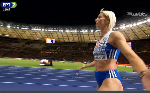 Χρυσή πρωταθλήτρια Ευρώπης στο τριπλούν η Β. Παπαχρήστου – Νέος θρίαμβος στο Βερολίνο