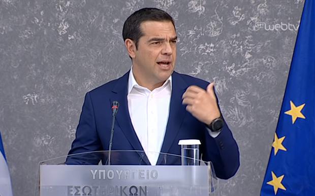Αλ. Τσίπρας: Να πάρουμε μέτρα, όχι να ζητάμε κάλπες στα αποκαΐδια (βίντεο)