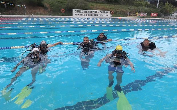 Με ενθουσιασμό οι πρώτες υποβρύχιες βουτιές στον Δήμο Νεάπολης-Συκεών
