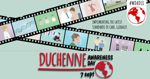 Παγκόσμια Ημέρα Ευαισθητοποίησης για τη Μυϊκή Δυστροφία Duchenne – 7 Σεπτεμβρίου