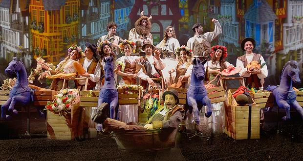 Νέο Θέατρο Κατερίνας Βασιλάκου: «Η ΠΕΝΤΑΜΟΡΦΗ ΚΑΙ ΤΟ ΤΕΡΑΣ»