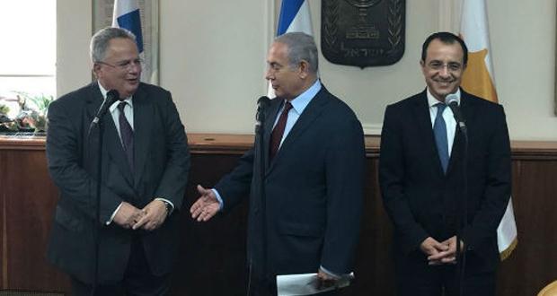 Ξεκίνησε η συνάντηση των Υπουργών Εξωτερικών Ελλάδας – Κύπρου – Ισραήλ στα Ιεροσόλυμα