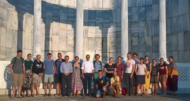 Επίσκεψη Ρωμαιοκαθολικών φοιτητών στην Ι. Μητρόπολη Κορίνθου – Στα «Βήματα του Αποστόλου Παύλου»