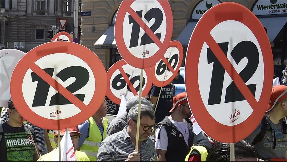 Κομισιόν: Ανοικτό το ενδεχόμενο μέτρων κατά της Αυστρίας για το 12ωρο