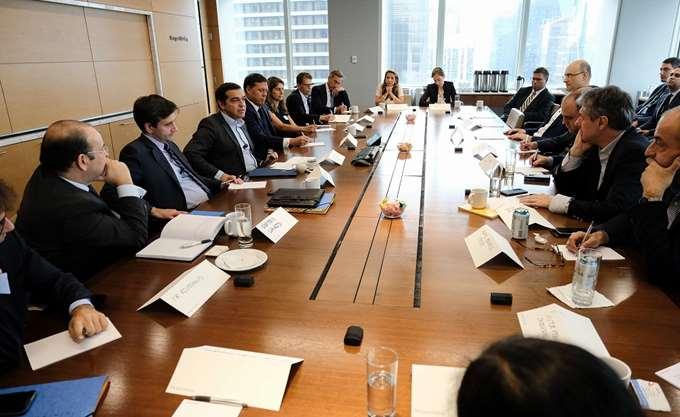Τσίπρας προς αμερικανικές τράπεζες: Τώρα είναι η ώρα για επενδύσεις