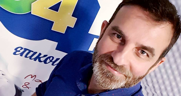 Ο Βασίλης Νομικός Γενικός Διευθυντής στο δημοτικό ραδιόφωνο Ηρακλείου 94FM
