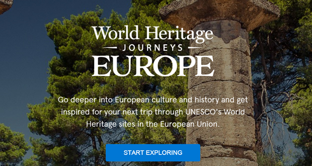 World Heritage Journeys: Με άρωμα Ελλάδας τα εγκαίνια της 1ης διαδικτυακής πλατφόρμας για την παγκόσμια κληρονομιά