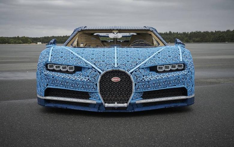 Μια Bugatti Chiron φτιαγμένη από 1 εκατομμύριο Lego! (βίντεο(