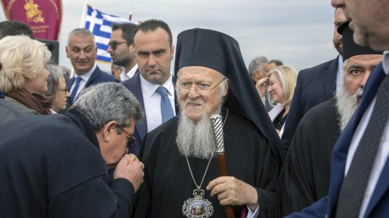 """""""Καθήκον του Ορθοδόξου ο σεβασμός προς τη φύση"""" λέει ο οικουμενικός πατριάρχης"""
