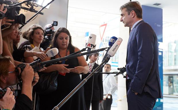 Κ. Μητσοτάκης: Η φύλαξης των συνόρων δεν υπάρχει στο λεξιλόγιο της σημερινής κυβέρνησης