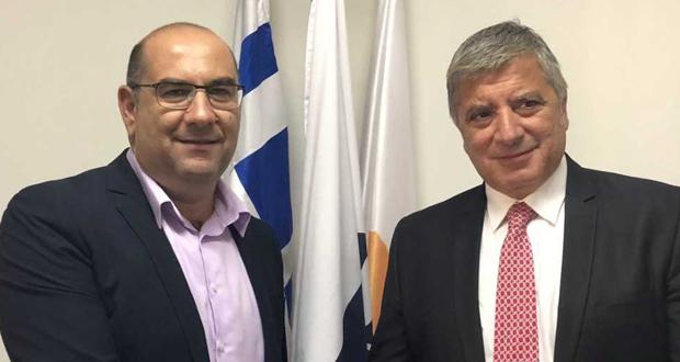Επίσκεψη του Προέδρου της ΚΕΔΕ Γ. Πατούλη στην Κύπρο και σειρά επαφών με αυτοδιοικητικούς παράγοντες της χώρας