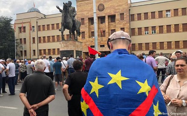 Γερμανικός τύπος για ΠΓΔΜ: «Τελευταία ευκαιρία για ένα ευρωπαϊκό μέλλον»